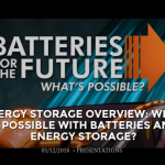 Energy Storage Overview