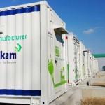 Kepko Kokam energy storage system