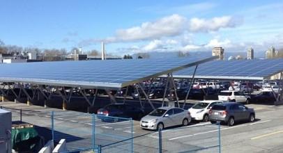 BC solar-ev charging microgrid